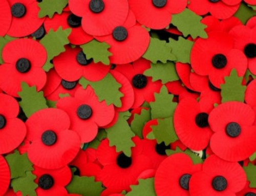 EYFS – Laying the Wreath for Remembrance Day