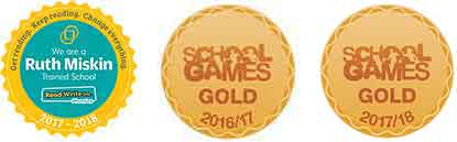 Gold Games Awards Kingskerswell Primary School