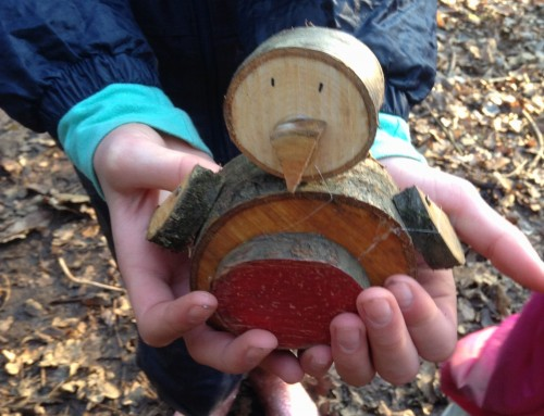 Year 5&6: Wooden Robins